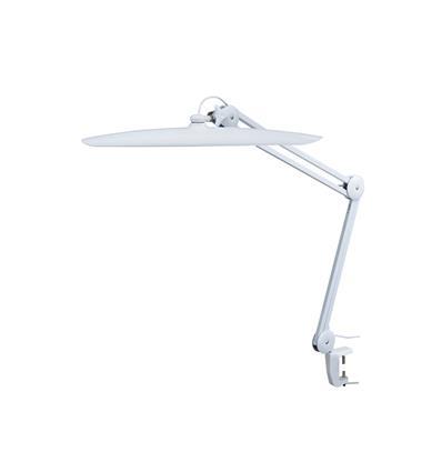 LAMPARA 117 LEDS 24W LUZ REGULABLE 6000K CON PINZA PARA FIJACION