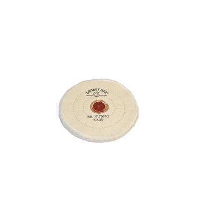 DISCO GROBET ALGODON BLANCO 125 MM. DIAM. 20 HOJAS (17.75802)