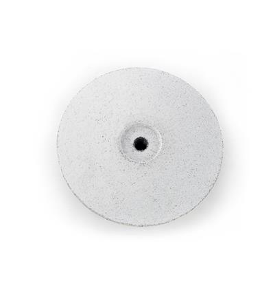 LENTEJA SILICONA EVE 22x4 mm. BLANCO BASTO (EN CAJA 100 UNIDADES)
