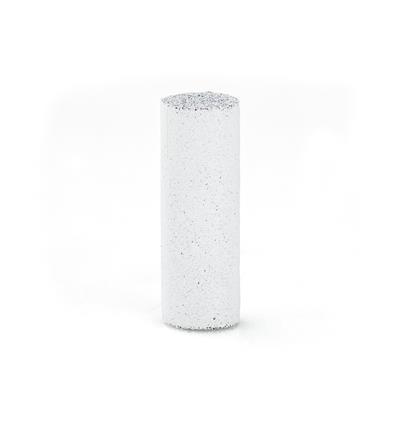 CILINDRO SILICONA EVE 6x24 mm. BLANCO BASTO (EN CAJA 100 UNIDADES